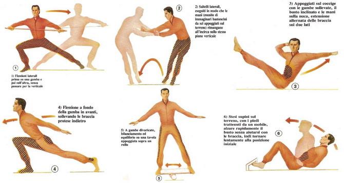 allenamento per lo sci di discesa 1