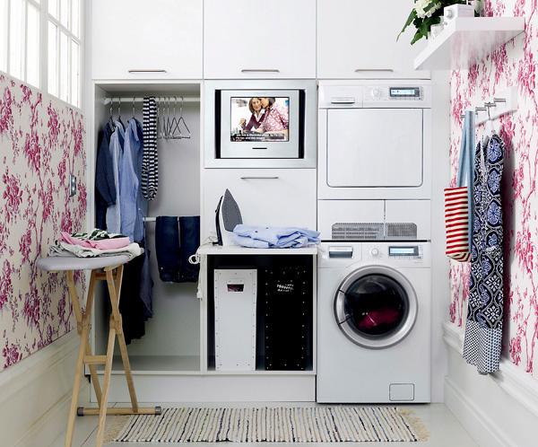Angolo lavanderia - Mobile lavatrice asciugatrice ikea ...