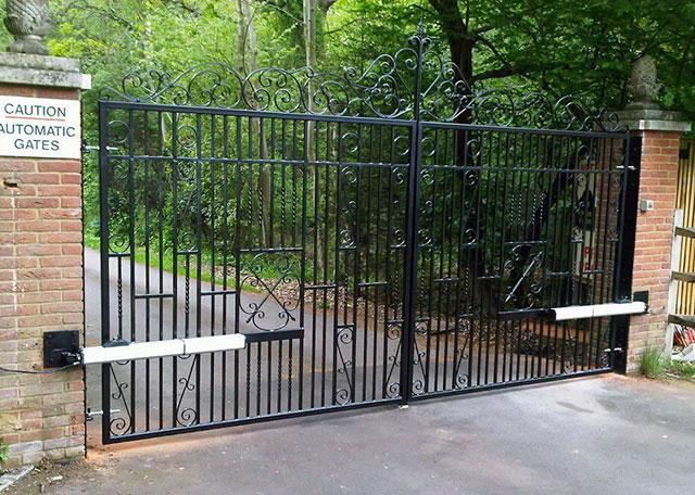 Cancello ad apertura automatica