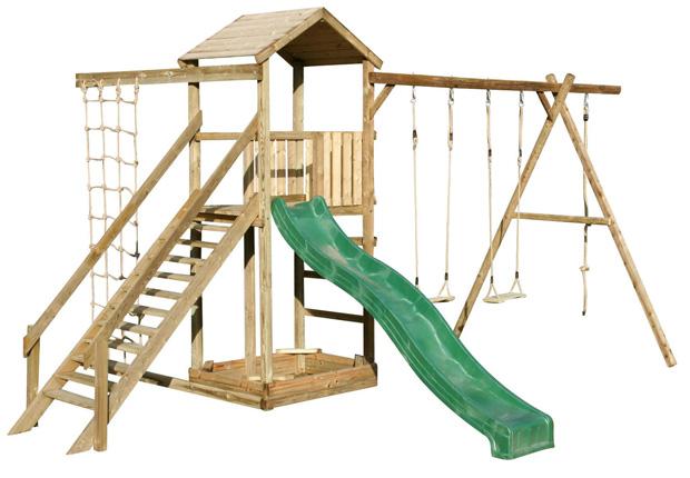 Giochi da giardino for Altalena con scivolo per bambini