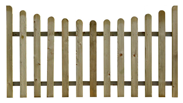 Staccionata in legno for Staccionata in legno brico