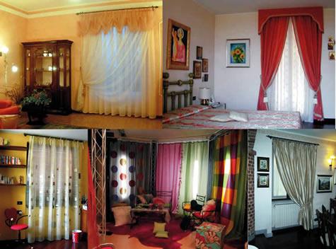 Tenere al caldo in casa tende per interni case di campagna for Foto case interni