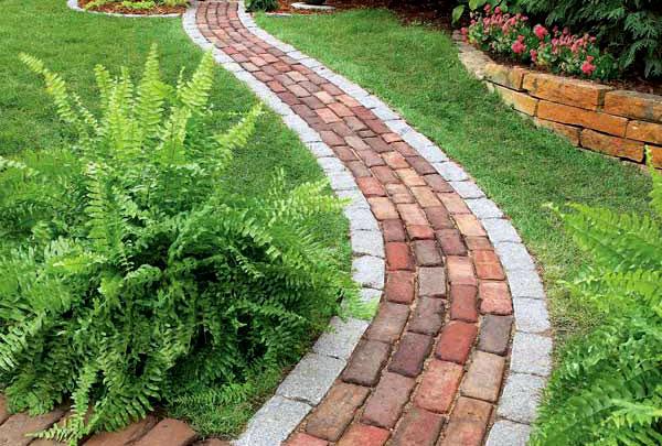 Vialetti giardino - Quando seminare erba giardino ...