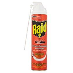 RAID Scarafaggi e Formiche Schiuma Attiva Spray