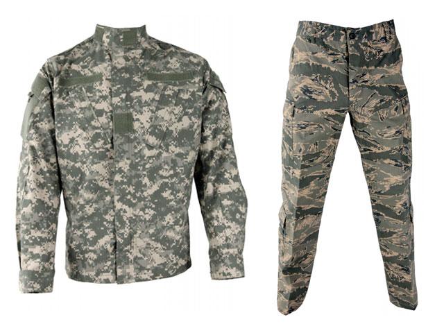 Abbigliamento militare americano