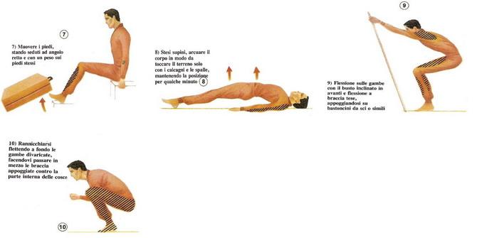 allenamento per lo sci di discesa 2