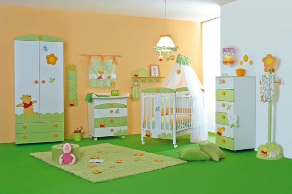 Come arredare la stanza del neonato