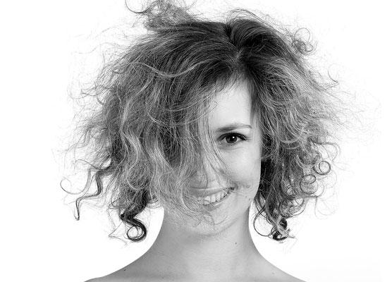 Cura dei capelli crespi