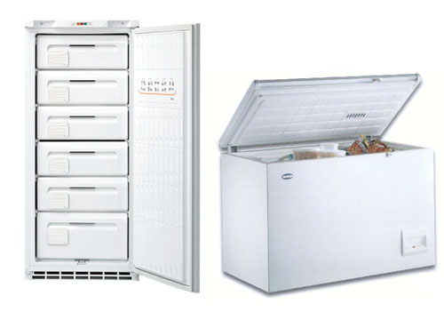 Elettrodomestici congelatori for Frigorifero a cassetti