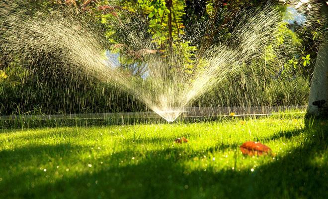 Impianto di irrigazione per giardino