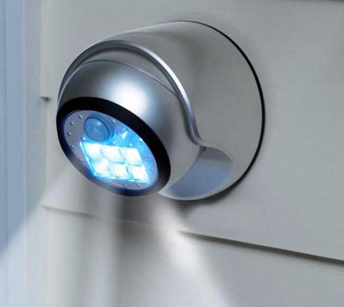 Schema Collegamento Lampada Con Sensore Di Movimento : Lampade con sensore di movimento