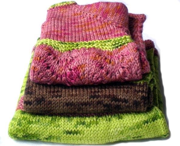 Lavorare maglia ai ferri