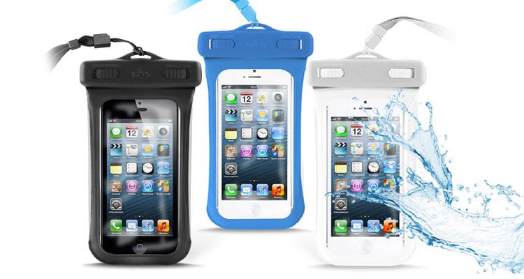 Custodia Impermeabile per Cellulare Cover Smartphone da Spiaggia