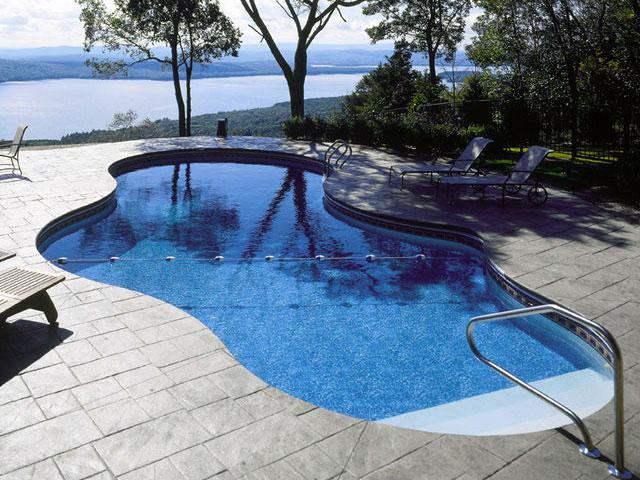Piscina da giardino in acciaio - Prezzo piscina interrata ...