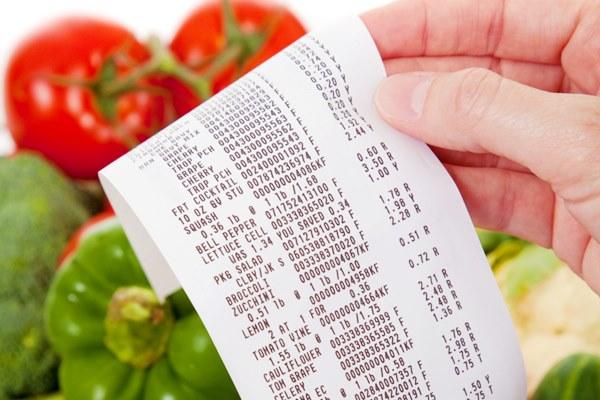 Scontrino supermercato