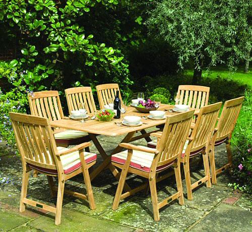 Tavolo da giardino for Offerte divanetti da giardino
