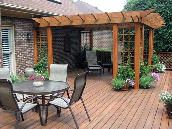 Verande in legno - Verande da giardino in legno ...